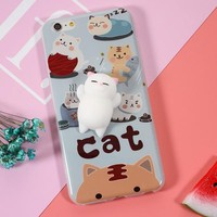 3D Cat iPhone 7 Cases 6,6s,7,7+