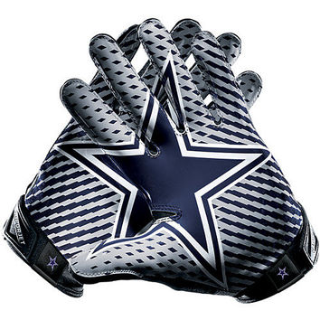 Men's Nike Dallas Cowboys Vapor Jet 2.0 Gloves
