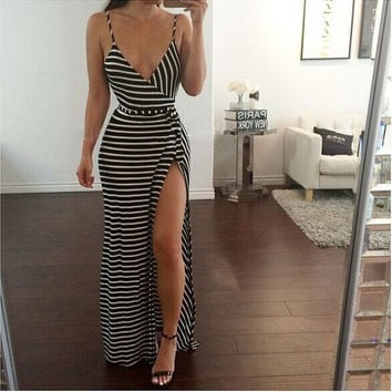 In Stripes Maxi
