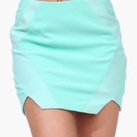 Techtonic Mini Skirt