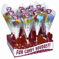 Eat Me!  Candy Tulip Bouquet 12 Count With Display