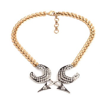 Shinning Jewelry Arrow of Cupid Bridesmaid Necklaces