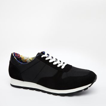 ASOS Trainers With Floral Lining
