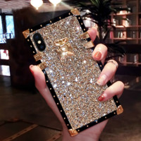 Bling Bling Rhinestones Case for iPhone X XS 6 7 8 PLUS
