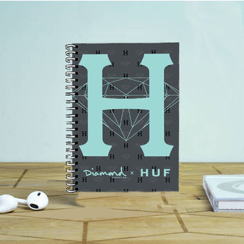 Diamond Supply Co X Huf Photo Notebook Auroid