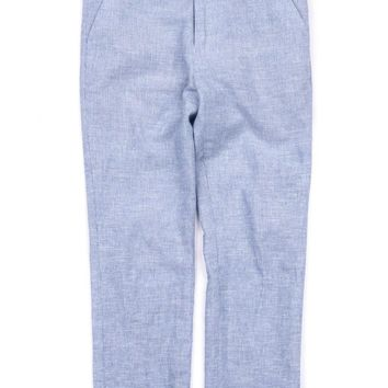 Appaman Boys' Sky Slub Suit Pant
