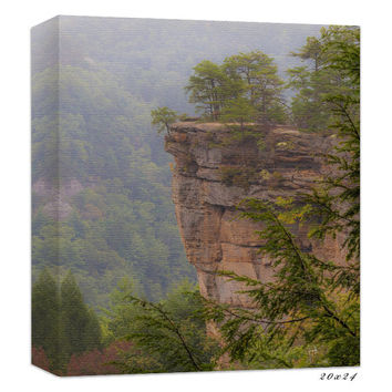 Kentucky Photography - Landscape Canvas - Mountain Photography - Nature Canvas - Autumn Photography - Red River Gorge - Fall Picture