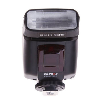 Viltrox JY-610 II Universal LCD Flashes On-camera Speedlight Flash For Nikon Canon Pentax Olympus Cameras DSLR Camera With Bag