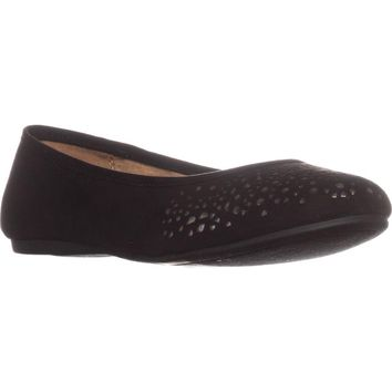 SC35 Averlay Ballet Flats, Black/Gold, 9.5 US