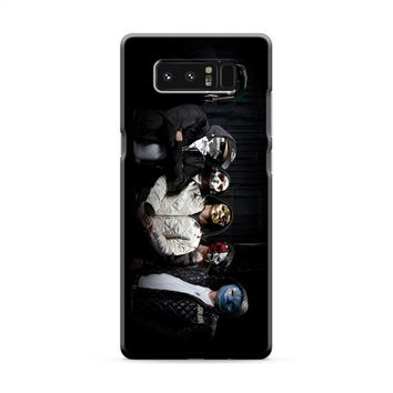 Hollywood Undead (group masks jackets) Samsung Galaxy Note 8 Case
