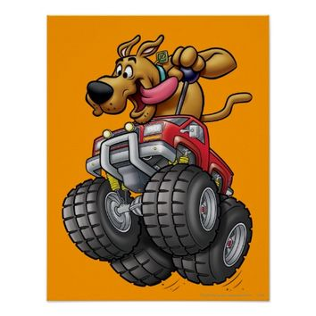 Scooby Doo Monster Truck1