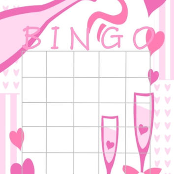 Bridal Shower Game of Bingo