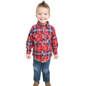 Baby Boys Girls British Plaid Shirt Boy Girl Classic London Style Blouse Kids Children Spring Autumn Tops 2017 New Fashion F26