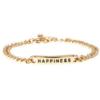 MKL Accessories Bracelet Happiness in Gold