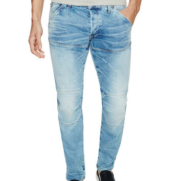 G-Star Men's 3D Slim Fit Jeans - Blue - Size 34x34