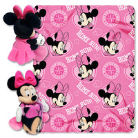 Seattle Mariners MLB Minnie Mouse with Throw Combo