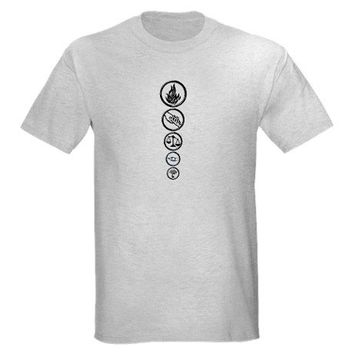 Four's Tattoos - Divergent T-Shirt on CafePress.com