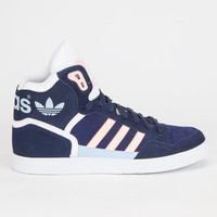 Adidas Originals Extaball Womens Shoes Navy  In Sizes