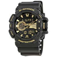 Casio G-Shock Mens Digital Resin Watch GA-400GB-1A9CR