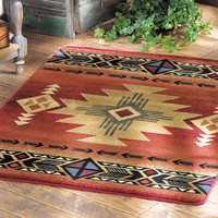 Arizona Crimson Accent Rug