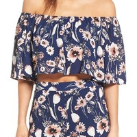 Leith Strapless Off the Shoulder Blouse | Nordstrom
