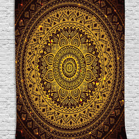 Indian Mandala Tapestry Hippie Home Decorative Wall Hanging Tapestries Boho Beach Towel Yoga Mat Bedspread Table Cloth 200x150cm