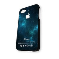 Blue Out Space Galaxy Nebula iPhone 5C Case