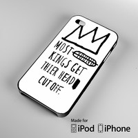 Jean-Michel Basquiat Quotes A0644 iPhone 4S 5S 5C 6 6Plus, iPod 4 5, LG G2 G3, Sony Z2 Case