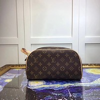 LV Louis Vuitton MONOGRAM CANVAS MAKEUP BAG