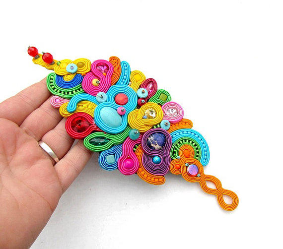 creations lanza bracelets accessories jewelry colorful bracelet handmade rainbow index and