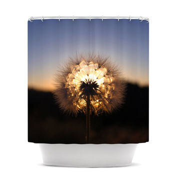 "Skye Zambrana ""Glow"" Shower Curtain"