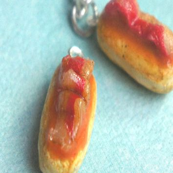 Maple Bacon Donut Necklace