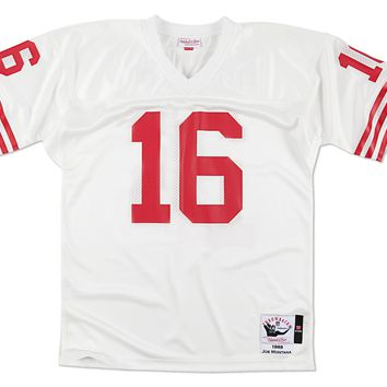 Joe Montana 49ers 1989 White Authentic Jersey Mitchell & Ness