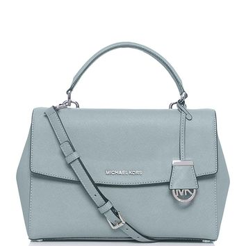 MICHAEL Michael Kors Ava Small Satchel Bag Green One Size