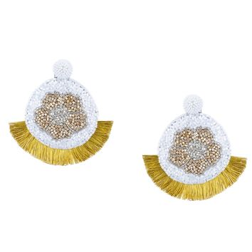 Poppy Earrings in Gold
