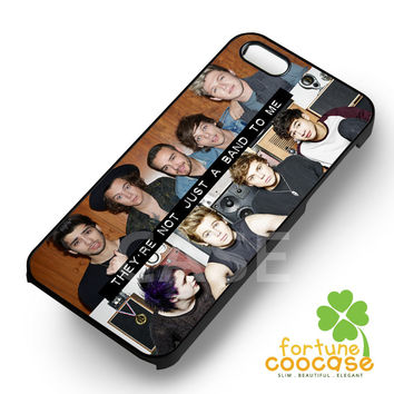 They're Not Just A Band 5 Seconds Of Summer and One Direction -sa4r for iPhone 4/4S/5/5S/5C/6/ 6+,samsung S3/S4/S5/S6 Regular/S6 Edge,samsung note 3/4