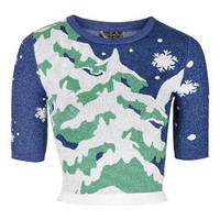 Winter Scene Top - Multi