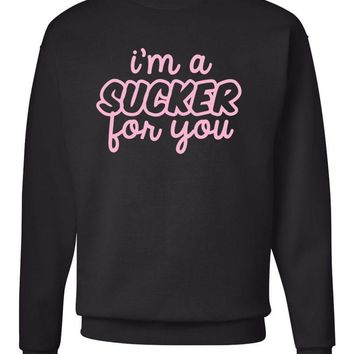 "Jonas Brothers ""I'm a Sucker for You"" Crew Neck Sweatshirt"
