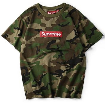 Supreme Fashion Casual Shirt Top Tee