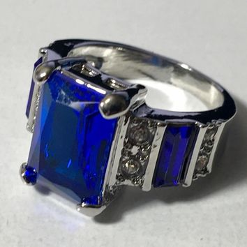 Blue Fashion Ring
