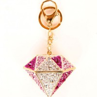 Pink Diamond Fantasy Keychain | Hottie World