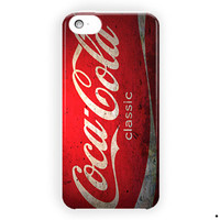 Coca Cola Vintage Logo Design Cover For iPhone 5 / 5S / 5C Case