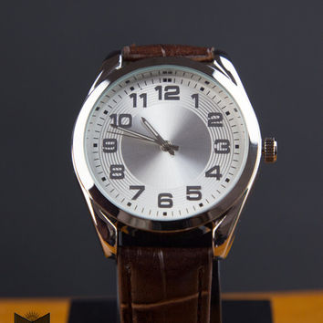 ZipSteelCo Classic Stainless Steel Watch