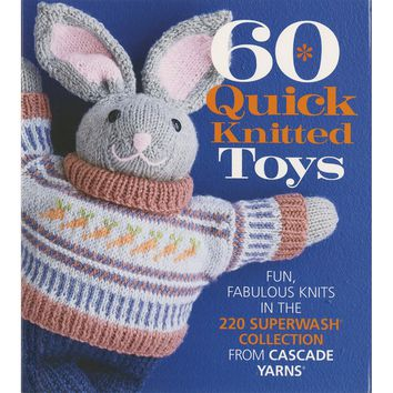 Sixth & Springs Books-60 Quick Knitted Toys