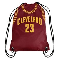 Cleveland Cavaliers Lebron James Street Ball Drawstring Backpack