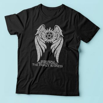 Supernatural Winchester Brothers Hunters Men'S T Shirt