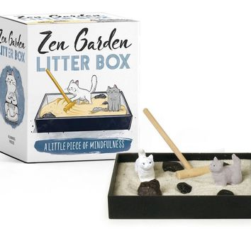 Zen Garden Mini Litter Box