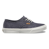 Motif Floral Authentic Slim | Shop Womens Shoes at Vans