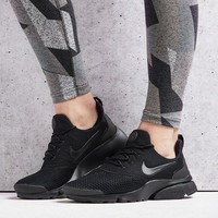 NIKE PRESTO FLY ALL BLACK WOMENS RUNNING SHOES