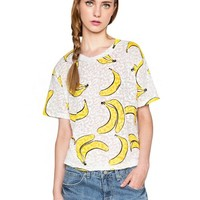 Bananas White Tee